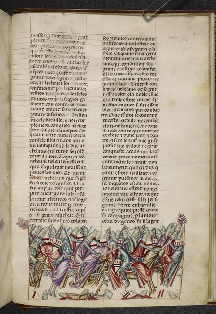 Defeat of Archelaus from BL Royal 20 D I, f. 354