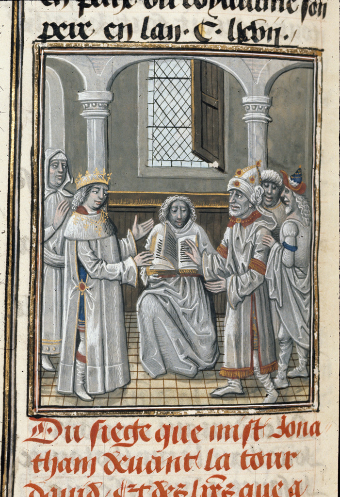 Demetrius and Jonathan from BL Royal 15 D I, f. 151v