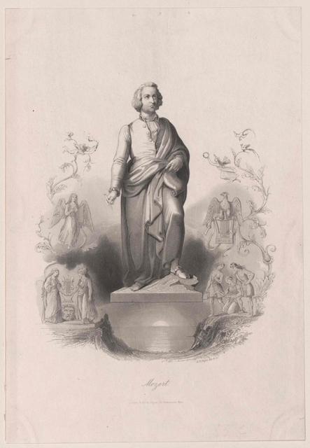 Denkmal Wolfgang Amadeus Mozart (1756-1791)