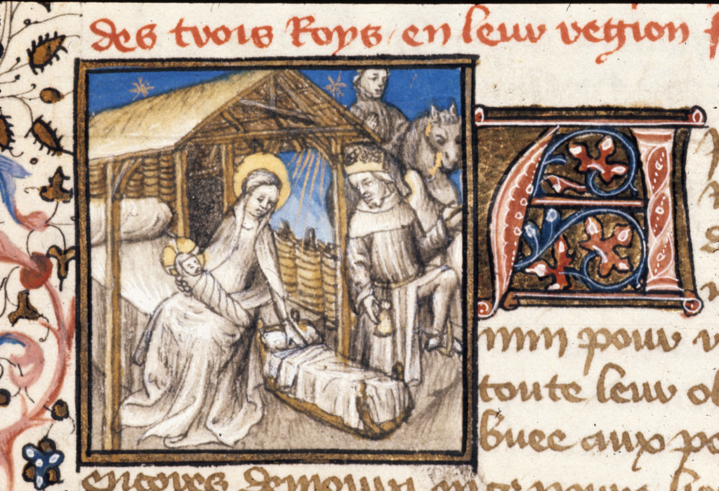 Departure of the Magi from BL Royal 20 B IV, f. 26
