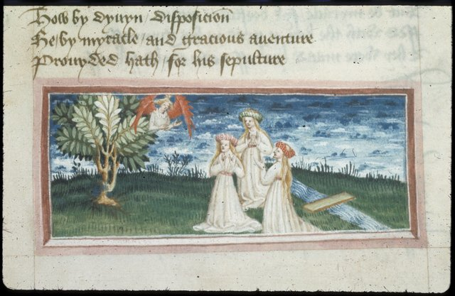 Detail from BL Harley 2278, f. 94