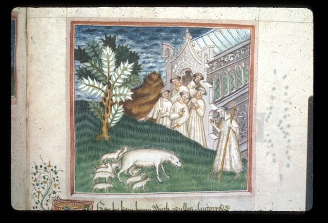 Detail from BL Harley 2278, f. 97
