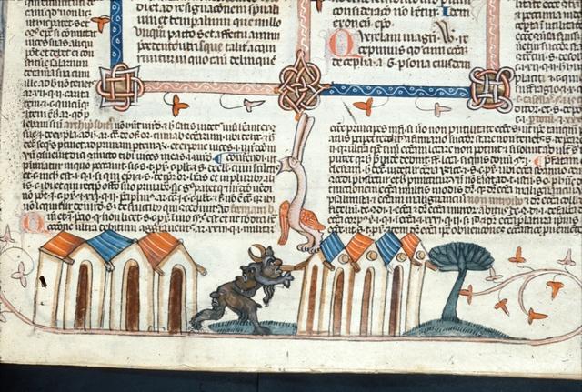 Devil from BL Royal 10 E IV, f. 263