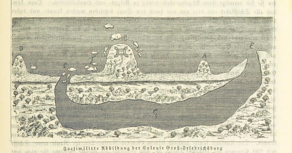 """Diagram from """"Unser Vaterland. Bilder aus der Deutschen Geschichte, Cultur und Heimathkunde. Herausgegeben von Dr. H. Pröhle, etc"""""""