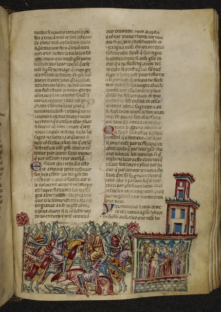 Diomedes and Aegiale from BL Royal 20 D I, f. 180