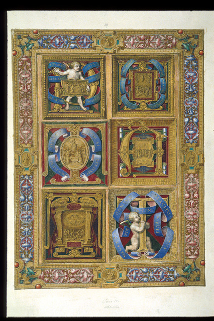 Doctors of the Church and Scenes from the Life of Christ from BL Add 21412, ff. 81-94*, ff. 89a-q