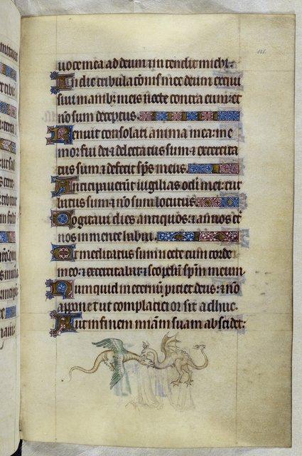 Dragons from BL Royal 2 B VII, f. 181