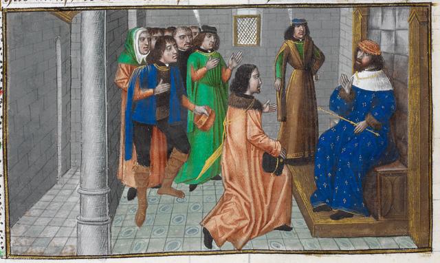 Duke Albert from BL Royal 14 E IV, f. 169v