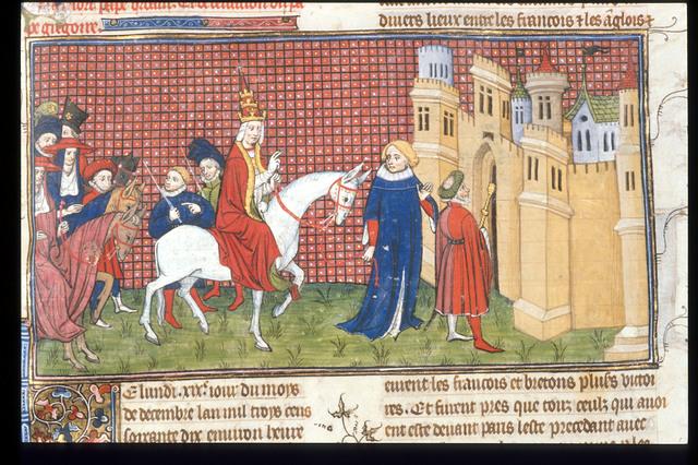 Duke of Anjou from BL Royal 20 C VII, f. 187