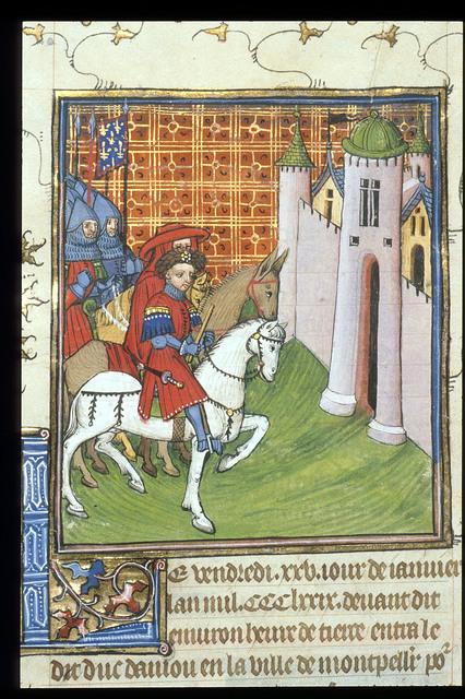Duke of Anjou from BL Royal 20 C VII, f. 213