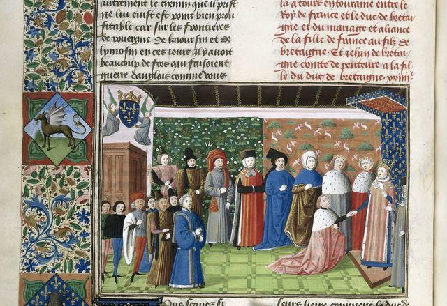 Duke of Brittany from BL Harley 4379, f. 135v