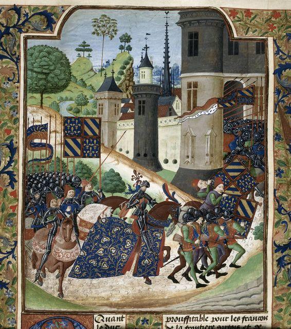 Duke of Burgundy from BL Royal 18 E I, f. 12