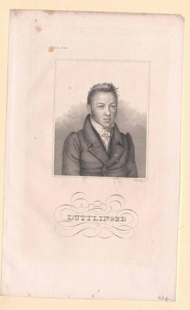 Duttlinger, Johann Georg