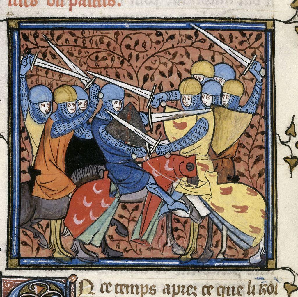 Ebroin from BL Royal 16 G VI, f. 114v