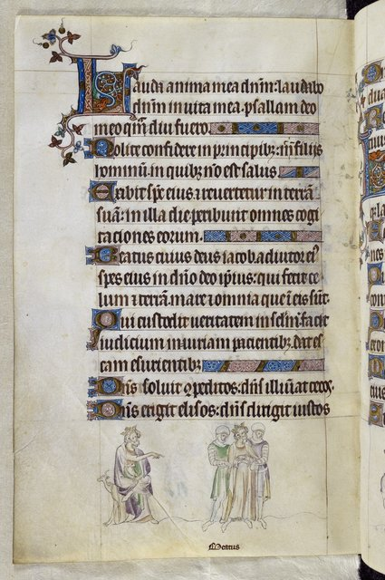 Edmund from BL Royal 2 B VII, f. 276v