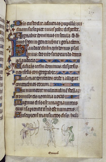 Edmund from BL Royal 2 B VII, f. 277