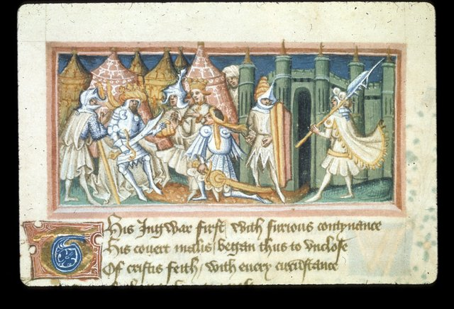 Edmund of Hyngwar from BL Harley 2278, f. 58v