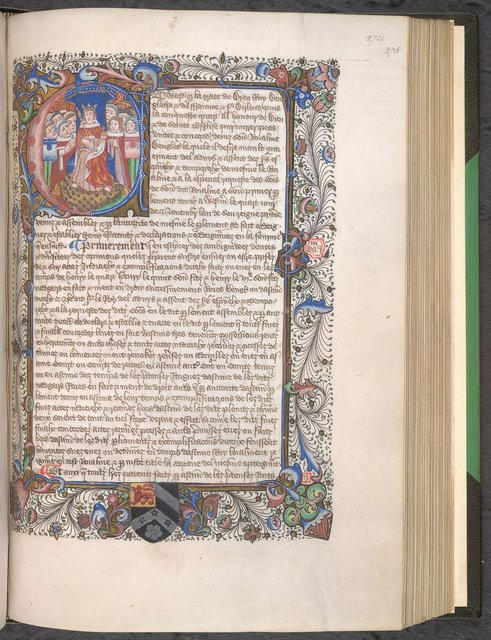 Edward IV from BL Hargrave 274, f. 274