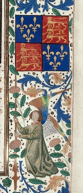 Edward IV's colours from BL Royal 14 E I, f. 3