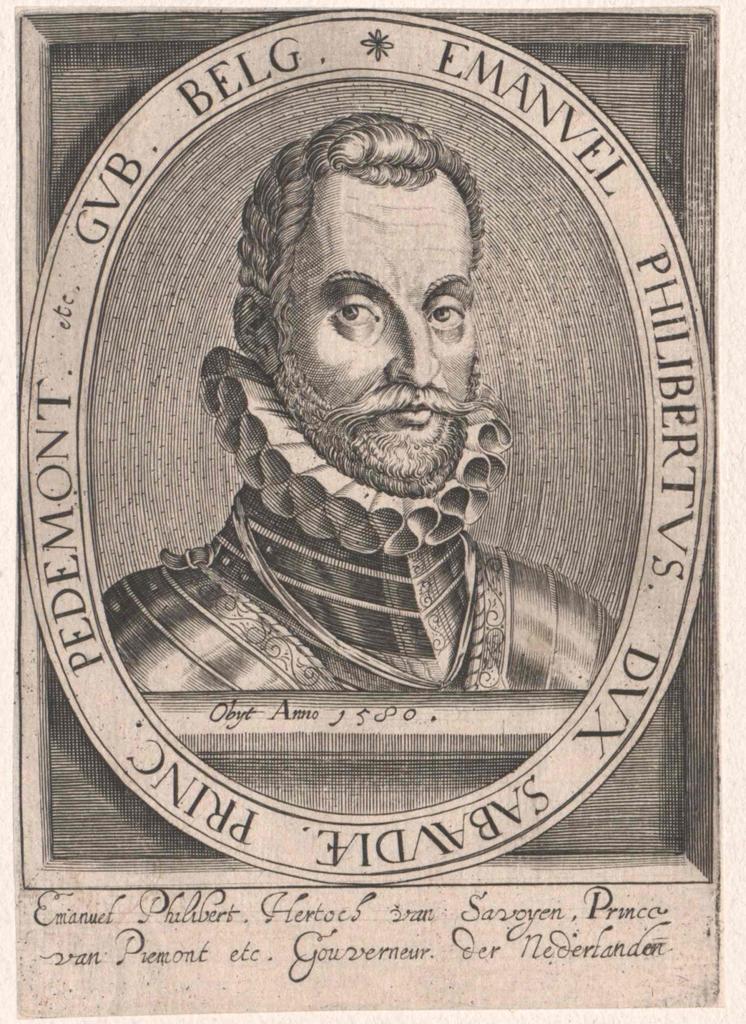 Emanuel Philibert, Herzog von Savoyen