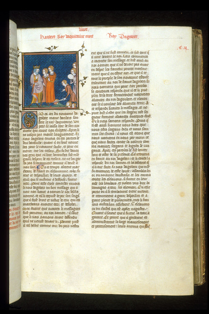 Envoys from BL Royal 16 G VI, f. 104