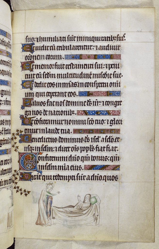 Eulalia from BL Royal 2 B VII, f. 226
