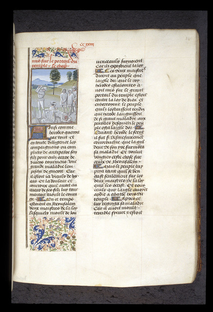 Execution from BL Royal 15 D I, f. 241