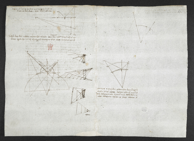 f. 62v,  displayed as an open bifolium with f. 61: diagrams from BL Arundel 263