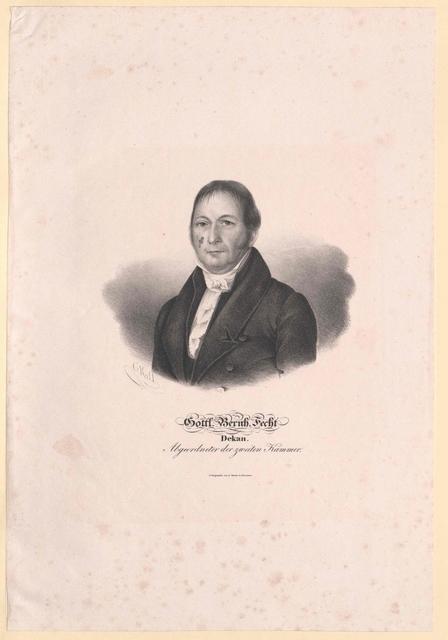 Fecht, Gottlieb Bernhard