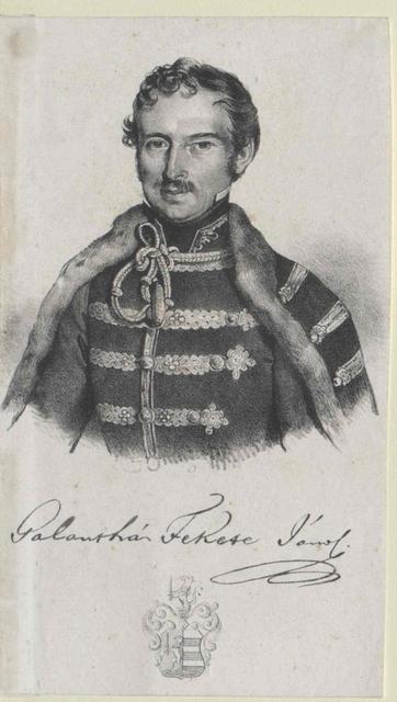 Fekete de Galántha, János Graf