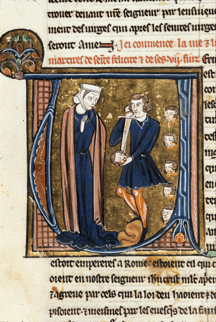 Felicity from BL Royal 20 D VI, f. 71v