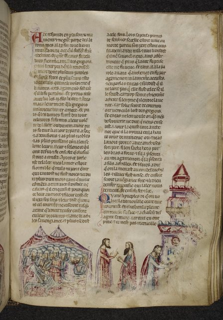 Finding of Polyxena from BL Royal 20 D I, f. 171