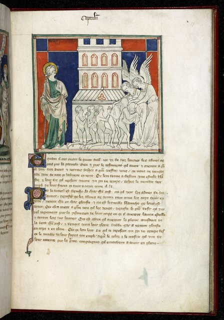 Five souls from BL Royal 19 B XV, f. 11