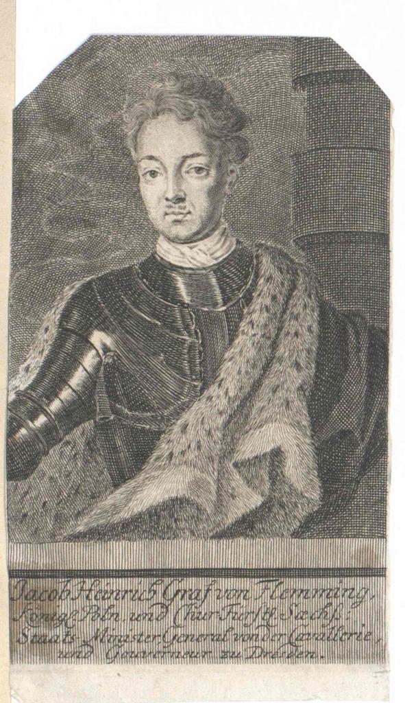 Flemming, Jakob Heinrich Graf