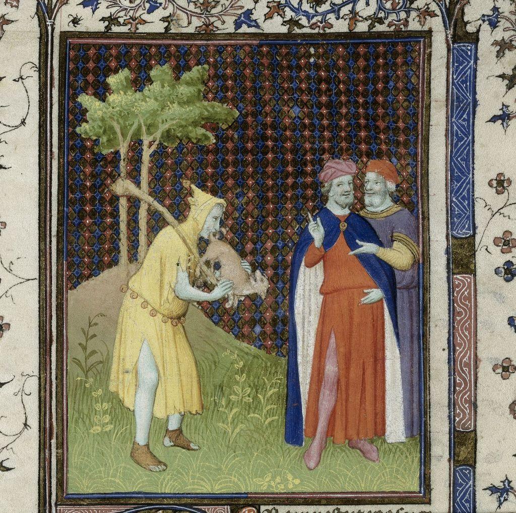 Fool from BL Royal 15 D III, f. 262