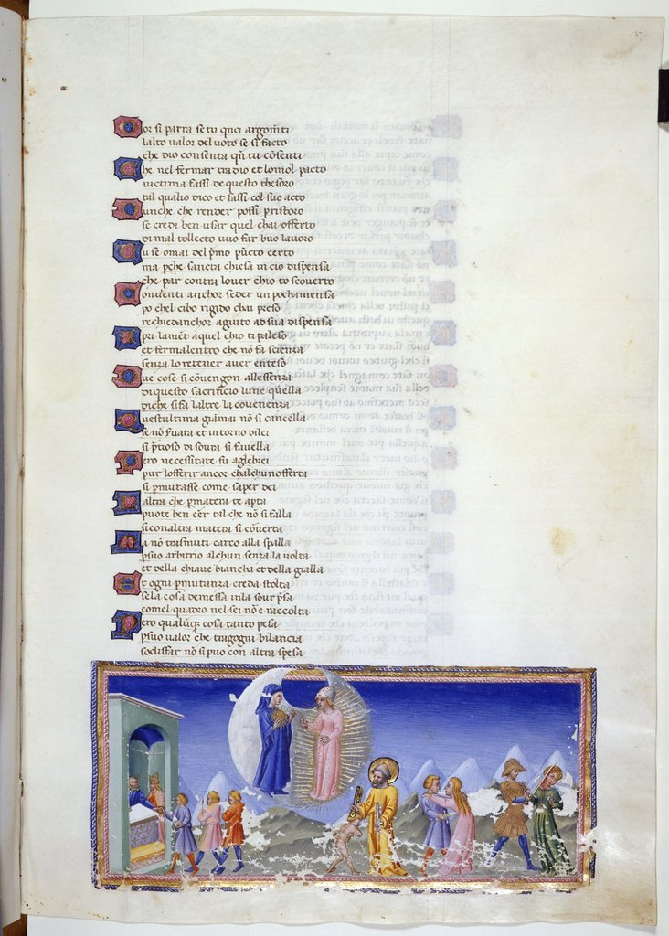 Four episodes from BL YT 36, f. 137