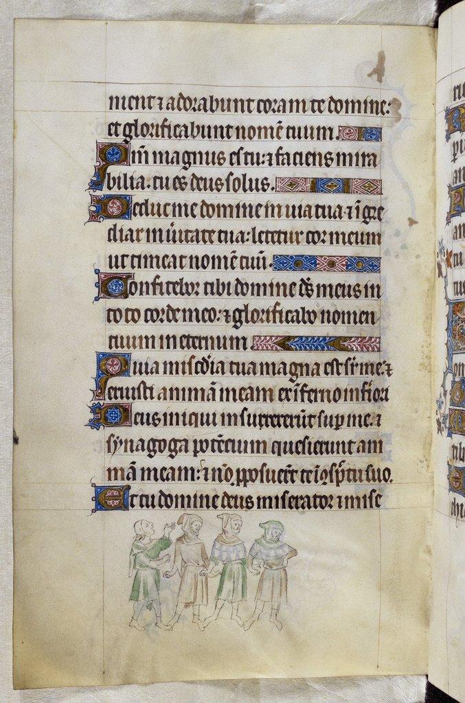 Four men from BL Royal 2 B VII, f. 196v