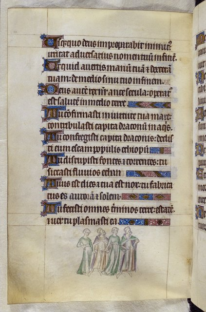 Four people from BL Royal 2 B VII, f. 178v
