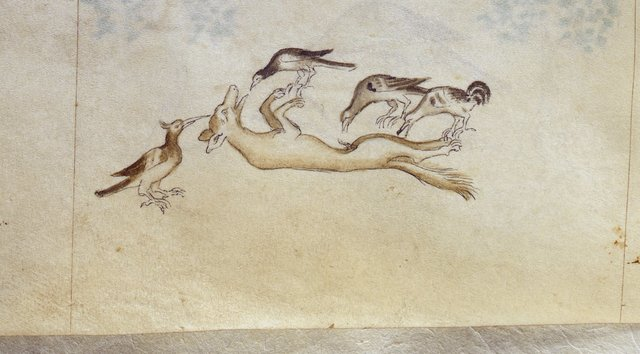 Fox from BL Royal 2 B VII, f. 99v