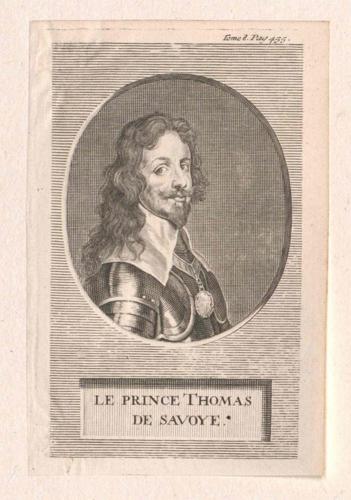 Franz Thomas, Herzog von Savoyen-Carignan