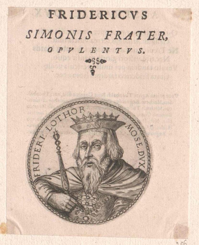 Friedrich I., Herzog von Lothringen