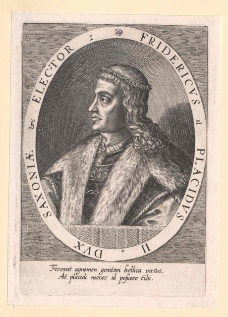 Friedrich II. der Sanftmütige, Kurfürst von Sachsen