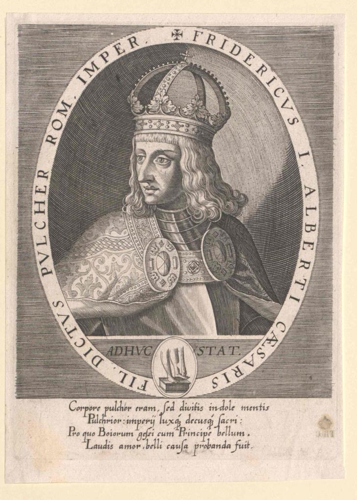 Friedrich III. der Schöne, deutscher König