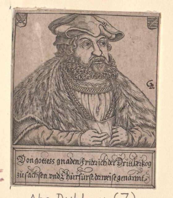 Friedrich III. der Weise, Kurfürst von Sachsen