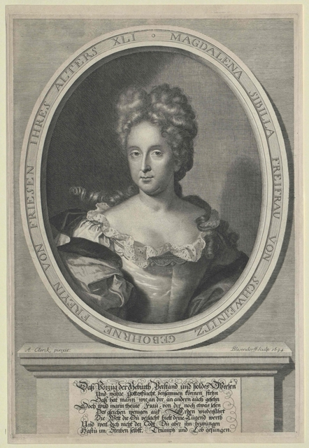 Friesen, Magdalena Sibylle Freiin