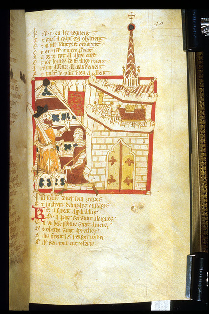 Frolles from BL Eg 3028, f. 40