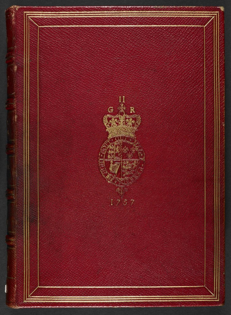 Front cover from BL Royal 12 C XIX, binding