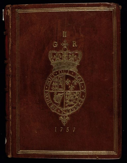 Front cover from BL Royal 17 A I, front cover