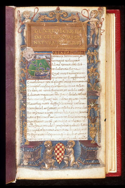 Frontispiece from BL Harley 2694, f. 1