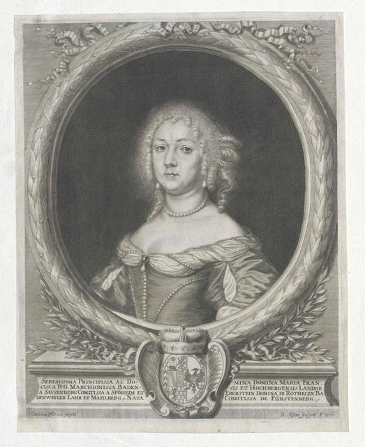 Fürstenberg, Maria Franziska Gräfin von